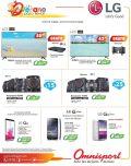 Grandes promociones LG electrodomesticos gracias a OMNISPORT - 13mar15