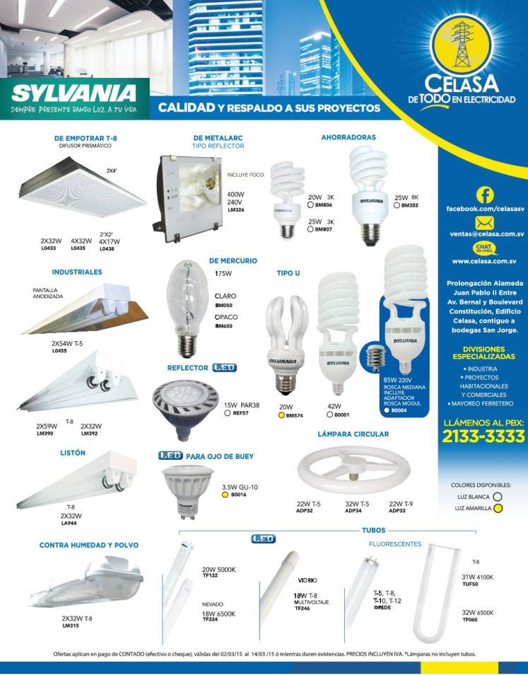 Iluminacion insdustrial profesionales - 02mar15