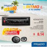 KENWOOD car audio system ofertas PRADO - 17mar15