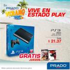 PLAY station 3 video console en oferta PRADO - 11mar15