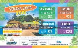 Paquete de vacaciones para viajar a CANCUN - 06mar15