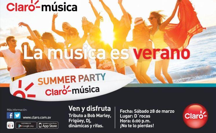 SUMMER PARTY co Claro musica no faltes - 20mar15