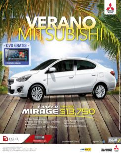 SUMMER promotion mitsubishi LANCE mirage