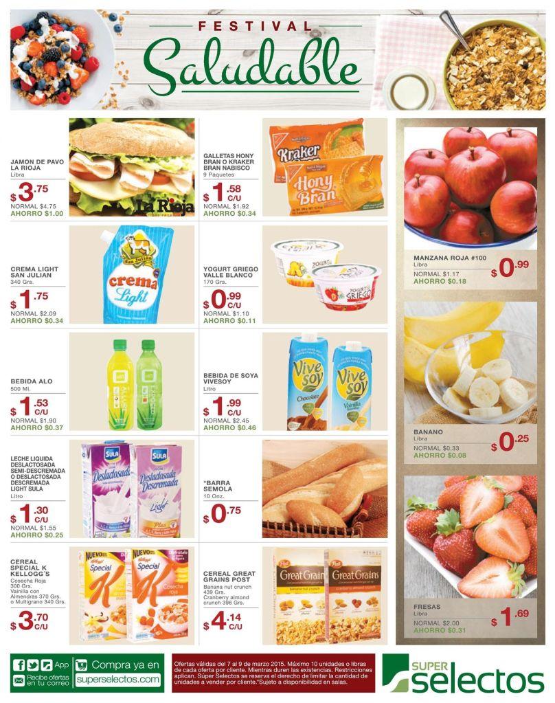 SUPER SELECTOS presenta Festival de comidas saludables - 07mar15