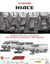 TOYOTA HIACE micro bus hasta 16 pasajeros