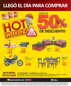 Today HOT FRIDAY discount on LA CURACAO sv - 20mar15