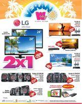 VERANO WAY con ofertas en equipos de sonido TABLET y pantallas - 20mar15