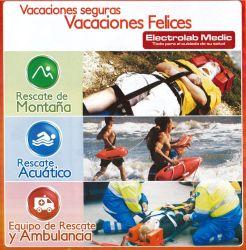 Vacaciones SEGURAS con implementos de primeros auxilios