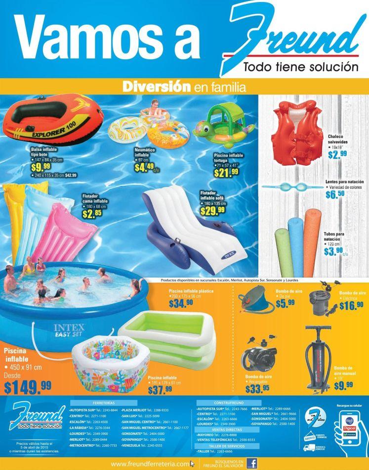 WOW Freund tiene super piscinas inflables y flotadores para la familia