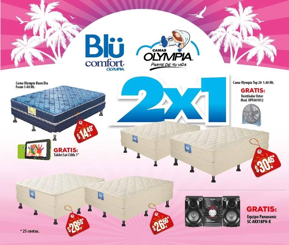 camas OLYMPIA ofertas agencias WAY - 17mar15