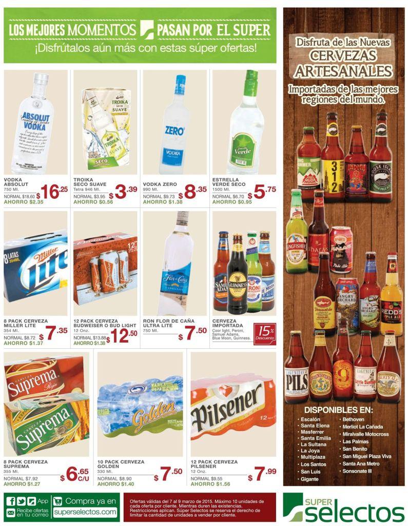 ofertas y descuentos en cervezas nacionales internacionales y artesanales