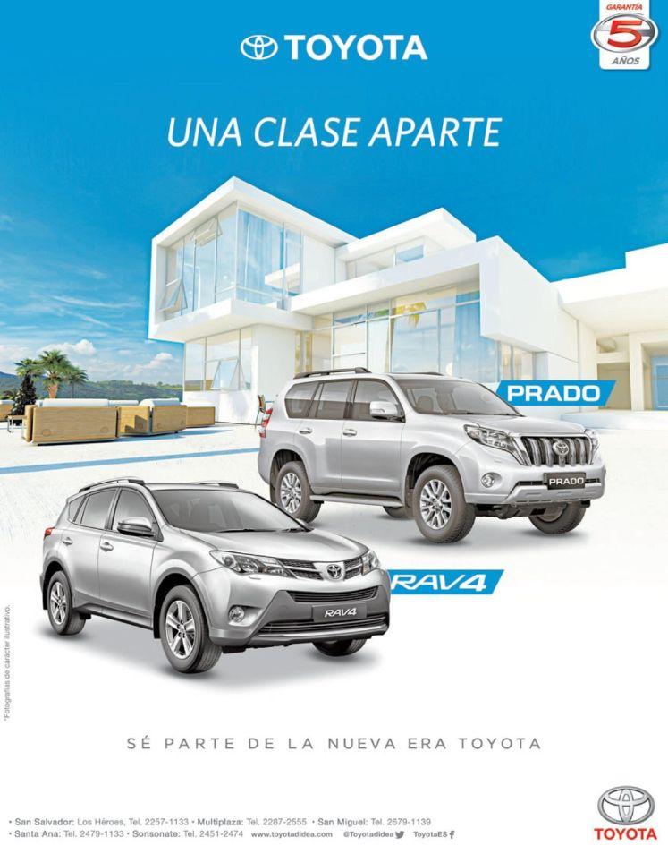 premium motors TOYOTA PRADO and RAV4 suv urban