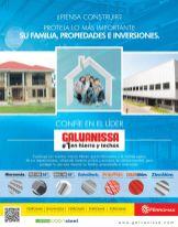 solucion en techos ZINC ALUM laminas color tejas galvadeck polin hierro