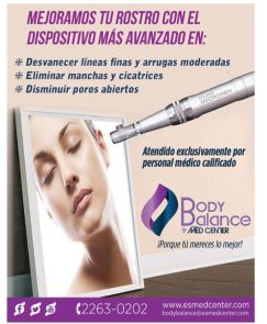 BODY BALANCE med center eliminar manchas y cicatrices