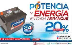 Baterias para carros ENERMAX descuento en compra - 24abr15
