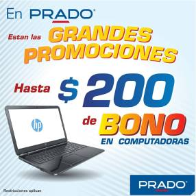 Bono hasta de 200 dolares en LAPTOP HP - 17abr15