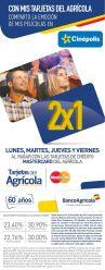 CINEPOLIS entradas y tickets al 2x1 con tarjetas mastercard banco agricola - 14abr15