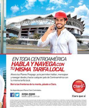 CLARO habla y mensajea con la misma tarifa en toda centroamerica
