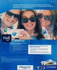 CUPON La prensa grafica smartphone HYUNDA de PRADO y TIGO