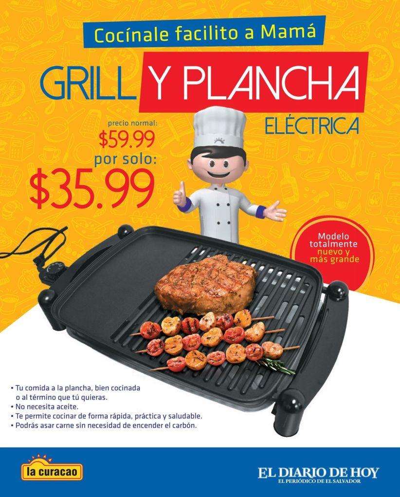 Cocina tus comidas a plancha con esta promo de la curacao - 23abr15