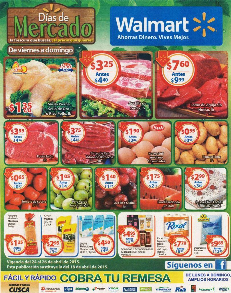 Compra barato como en el mercado gracias a WALMART - 24abr15