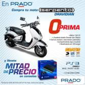 Compra tu moto SERPENTO DRAVIDIAN y llevate un PS3 - 30abr15