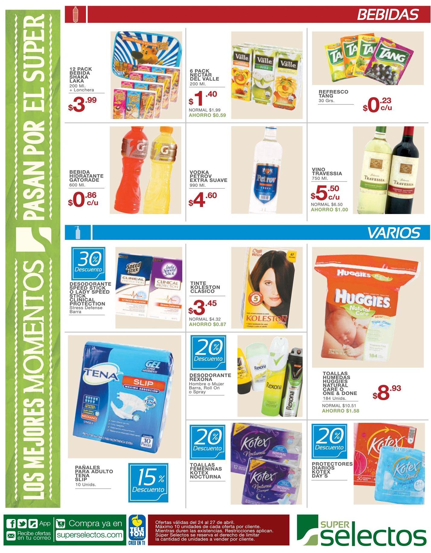 Descuentos y mas ofertas en tu supermercado - 24abr15