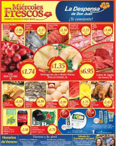 Estas son las ofertas del dia en la despensa de don juan - 01abr15