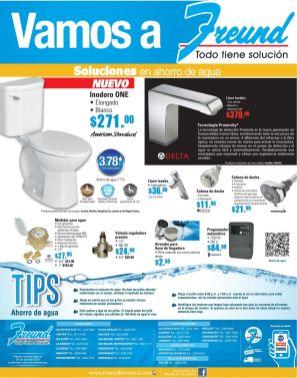 FREUND Prodcutos y accesrios para ahorrar agua en tu casa - 20abr15