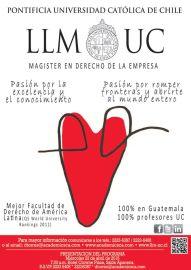 MAGISTER en la universidad pontifiia de chile