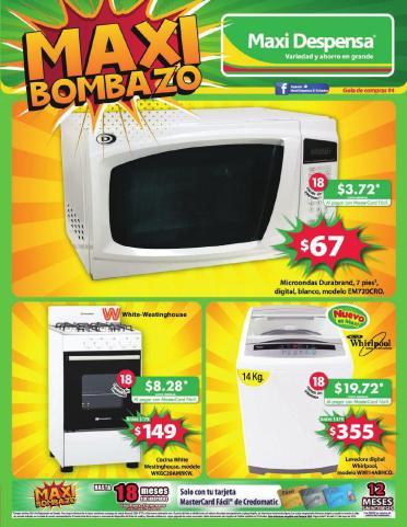 MAXI bombazo guia de compras no4 abril 2015