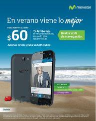 MOVISTAR ofertas smartphone YEZZ 60 dolares