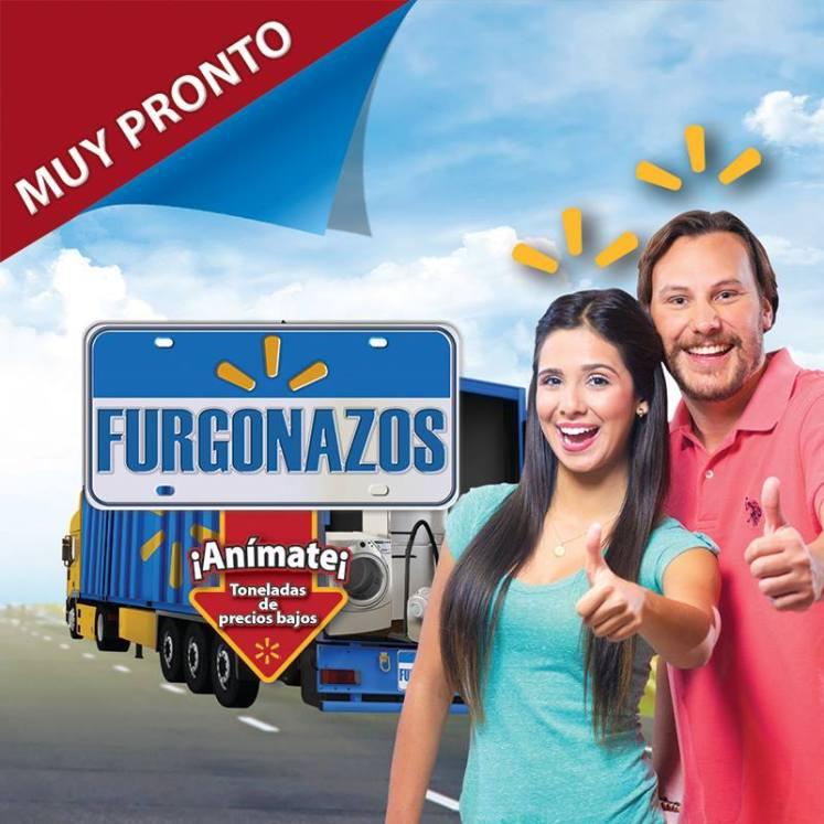 MUY PRONTO llegaran los Furgonazos de Walmart - 09abr15
