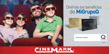 Membership CARD Mi GRUPOQ el salvador cinemark movies