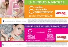 Muebles infantiles y de bebe con promociones en SEARS - 09abr15
