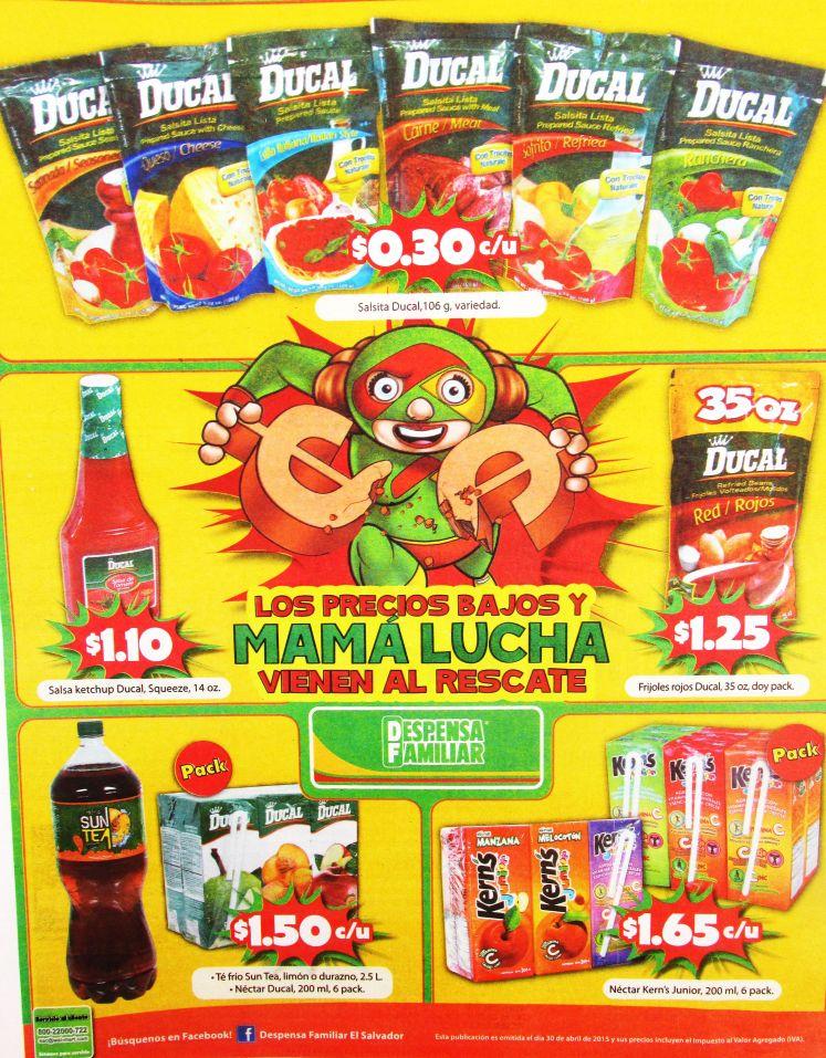 Productos DUCAL en promocion para tus comidas - 30abr15