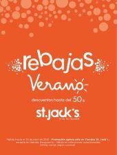 REBAJAS de verano hasta 50 OFF en tiendas st jacks - 06abr15