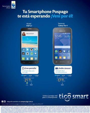 Renueva tu plan de celular con un samsung a solo 17 dolares en TIGO