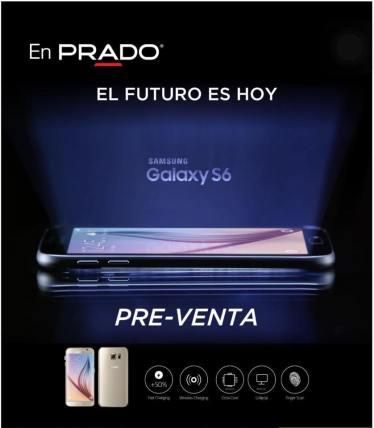 Se de los primeros en tener y lucir el nuevo SAMSUNG Galaxy S6