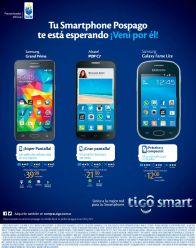 Solo TIGO te ofrece plan smartphones desde 12 dolares