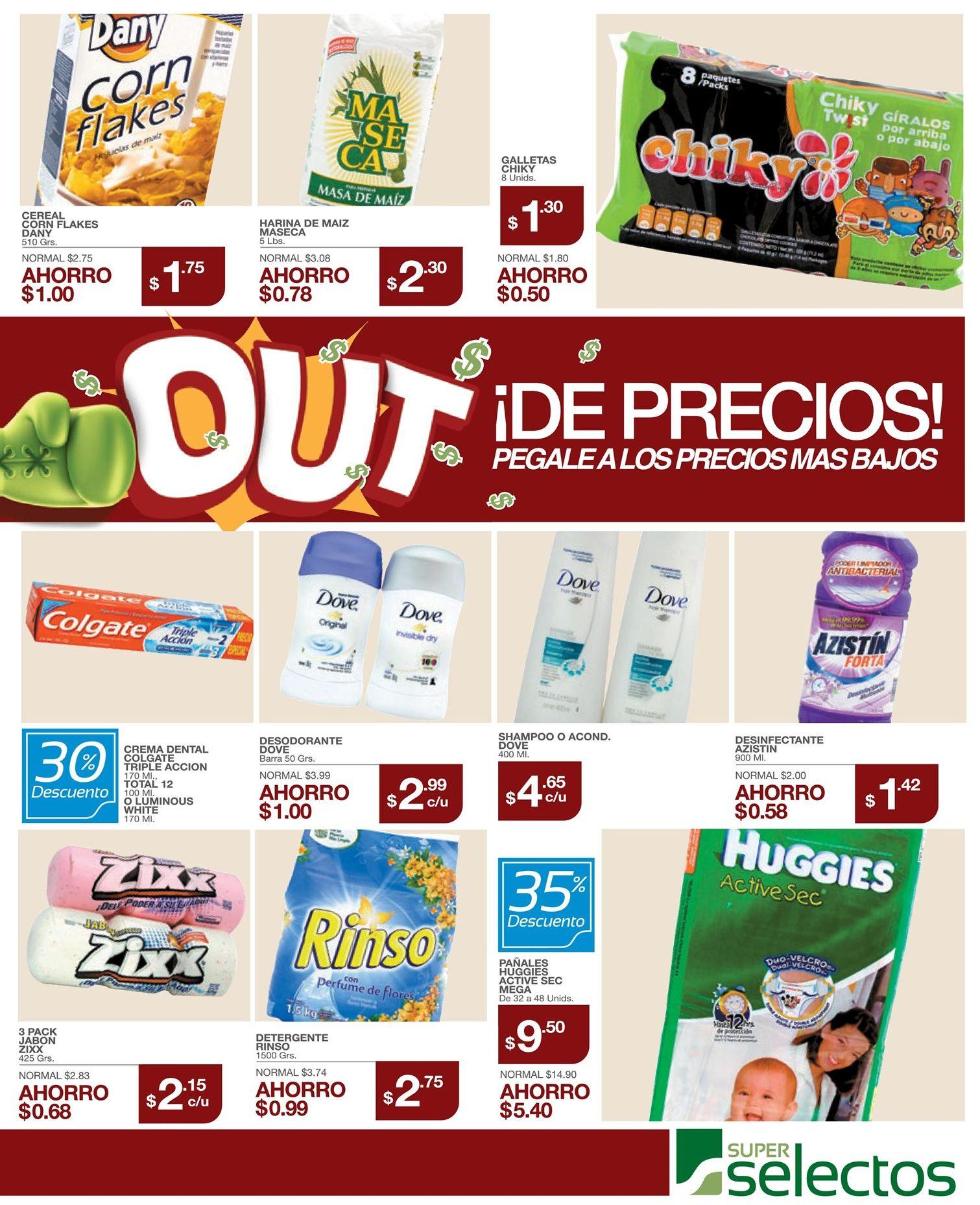 Super selectos ofertas con solo ahorro de la semana - 30abr15