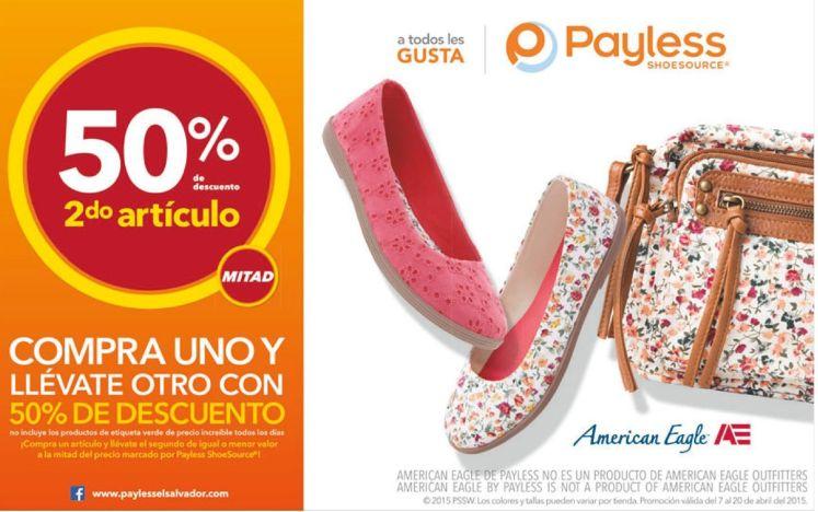 calzado para damas AMERICAN EAGLE via payless el salvador - 10abr15