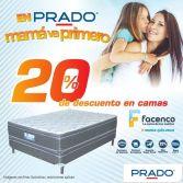 camas FACENCO 20 por ciento de descuento - 30abr15