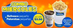 combo movie theater CINEPOLIS miercoles