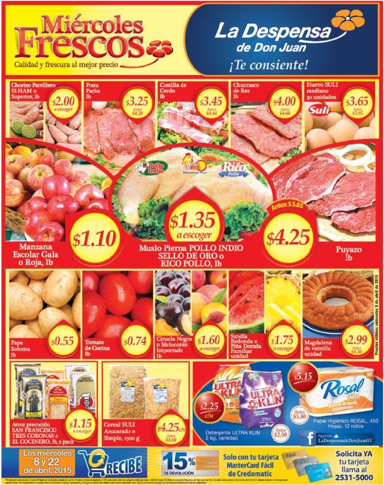 compras en la despensa de don juan ofertas - 08abr15