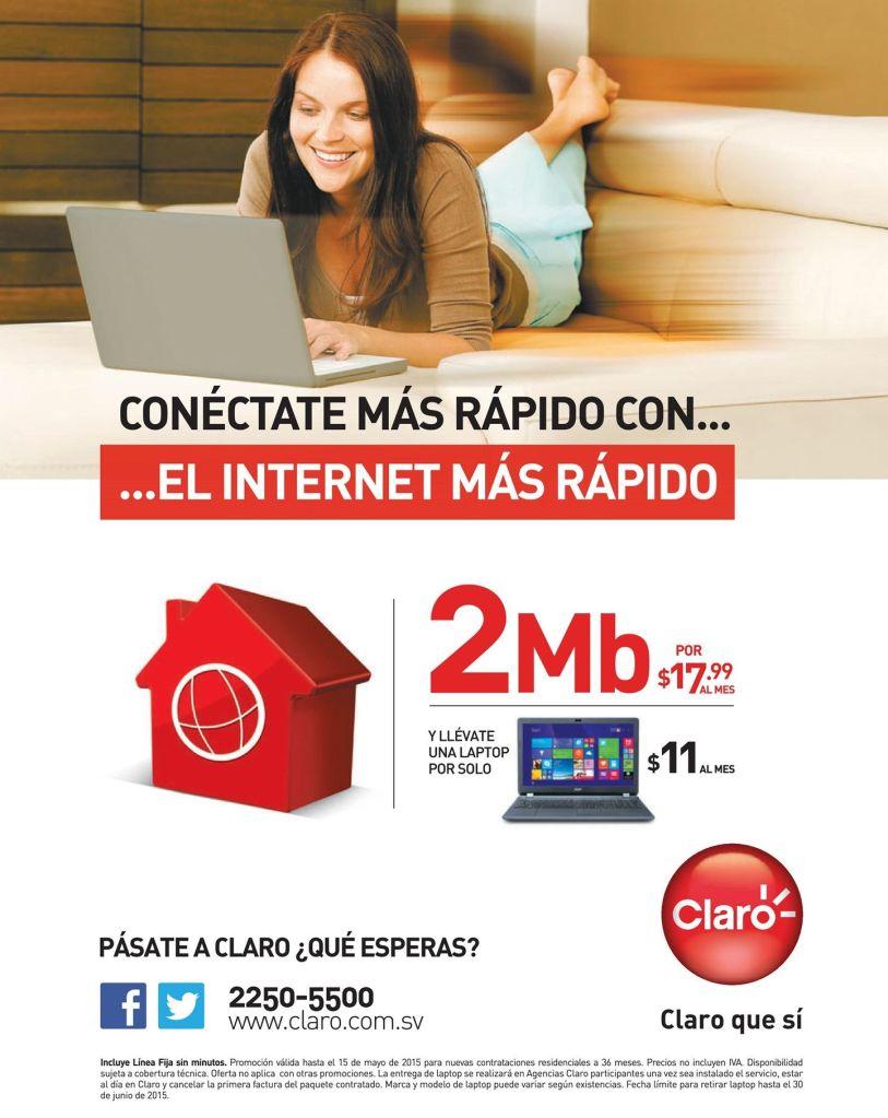 internet residencial 2MB rapido mas portatil