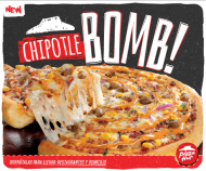 new Chipotle BOMB by pizza hut