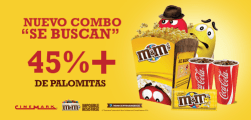 new combo en dulceria CINEMARK movies
