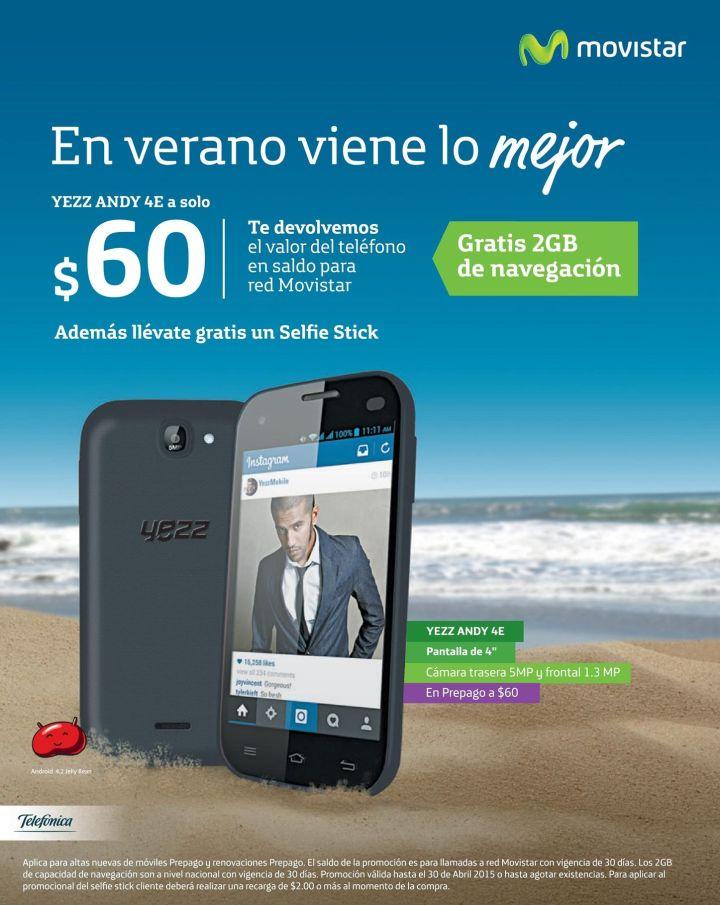 practico y economico smartphone MOVISTAR 60 dolares - 28abr15