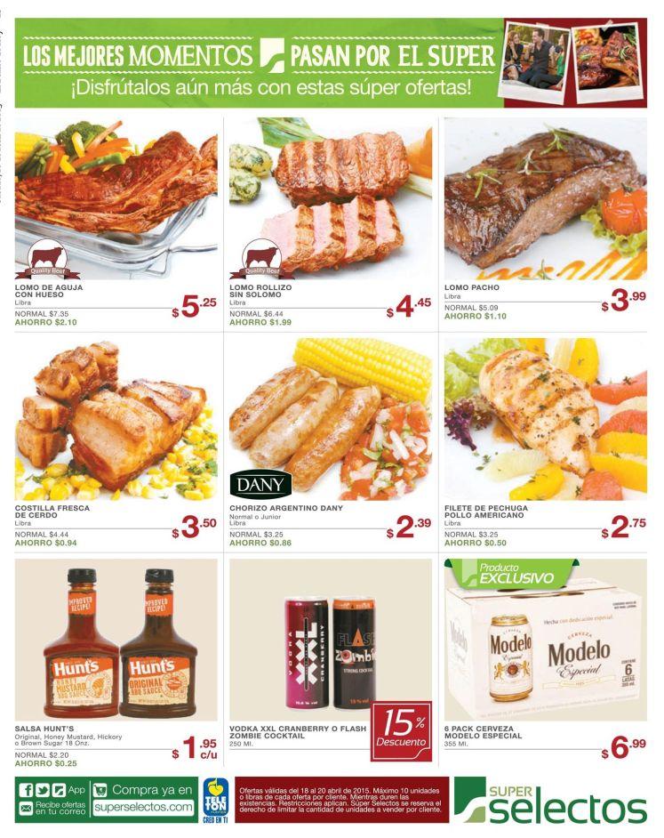 ricas carnes para parrillada de fin de semana - 18abr15